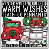 Winter & Christmas Writing Prompts 3rd, 4th Grade December Winter Bulletin Board