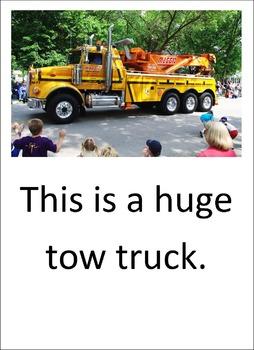 Trucks. A LOOK BOOK Easy Reader
