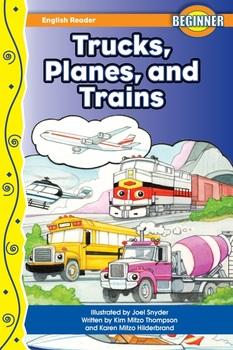 Trucks, Planes & Trains Read- Along eBook & Audio Track