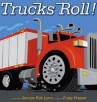 Trucks Roll Amazing Words PPT