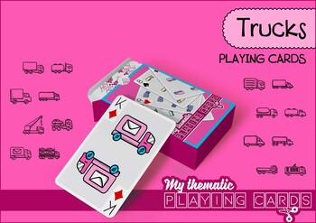 Trucks Themed Playing Cards Deck