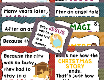 True CHRISTmas Story FACT PACK Reading Passages Writing Rebus MULTI-LEVEL