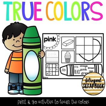 True Colors {Practice Pages}