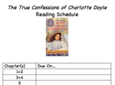 True Confessions of Charlotte Doyle - Journals, Poetry, Re