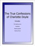 True Confessions of Charlotte Doyle lesson packet (pre-read,quizzes,vocab, etc.)