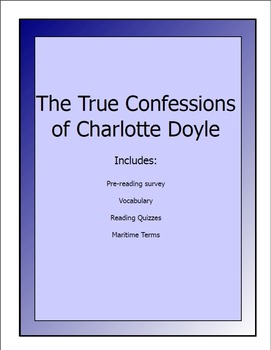 True Confessions of Charlotte Doyle lesson packet (pre-rea
