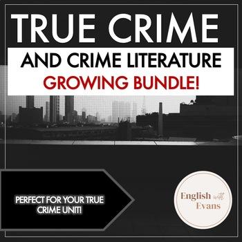 True Crime and Crime Literature Learning Station BUNDLE