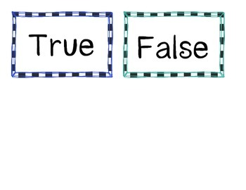 True & False Addition & Subtraction Bundle [CC Aligned]