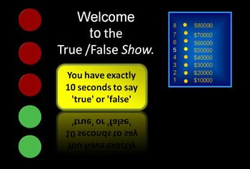 True False Comparative Game