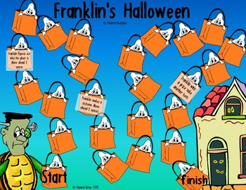 True False Comprehension Game inspired by Franklin's Halloween