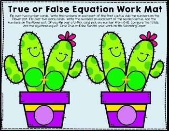 True False Equations 0 Thru 10