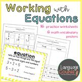 True/False Equations, Equations, 3 addends- 1st Grade
