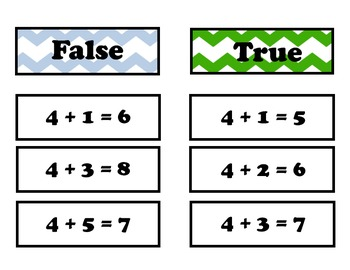 True / False Game 4 Facts