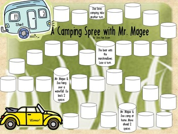 True False Game Inspired by A Camping Spree with Mr. Magee by Chris Van Dusen