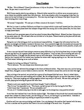 Story / Cuento - True Feedom /  La libertad verdadera