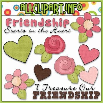 True Friendship Clip Art - Cheryl Seslar Clip Art