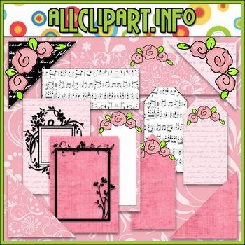 True Love Scrappin Delights Commercial Use Clip Art Kit - Cheryl Seslar Clip Art