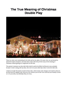 True Meaning of Christmas Double Play - Christian Church S