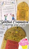 Printable Spiritual Communion Pack For Kids