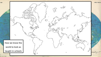 True Size of the Continents