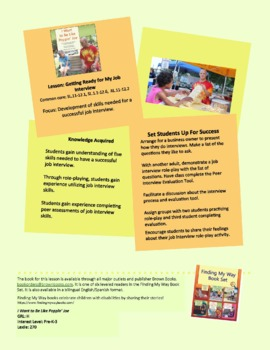 True Stories of Inclusion: My Job Interview SL.11-12.1,11-12.6;RI.11-12.2
