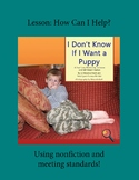 True Stories of Inclusion: Helping at Home RL.1.1, RL.1.9,