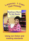 True Stories of Inclusion: I Can Get Ready W 1.7, W 1.3, R