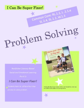 True Stories of Inclusion: I Can Solve Problems SL.2.4,L.1