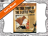 True Story of the 3 Little Pigs by Jon Scieszka Vocabulary Visuals (for ELLs)