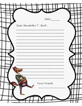 True Story of the Three little pigs- Letter to Alexander T. Wolf