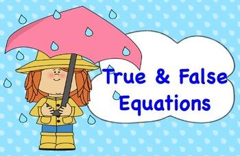 True and False Equations
