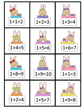 True and False Equations - Bunches of Bunnies