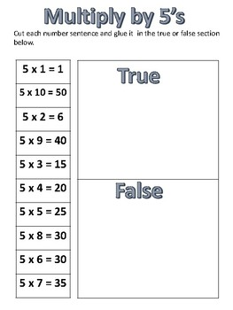 True and False Multiplication