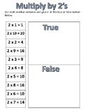 True and False Multiplication