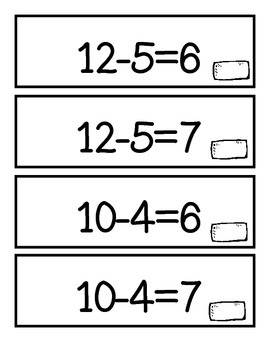 Subtraction Equations