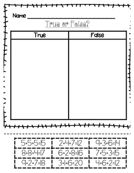 True and False with Adding 3 Numbers