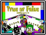 True or False Equation Sort