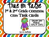 True or False? 1st Grade Equations (Common Core 1.OA.6 and 2.OA.2