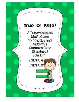 True or False? A Differentiated Math Game