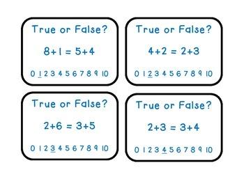 True or False? A Look at Equal Equations