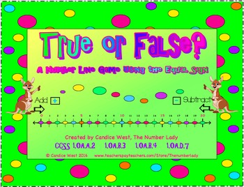 True or False? A Number Line Game Using the Equal Sign