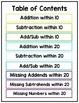 True or False Task Cards Addition & Subtraction