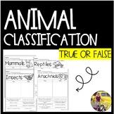 True or False: Animal Edition