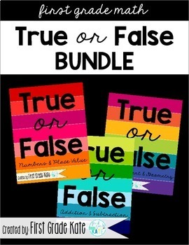 True or False BUNDLE