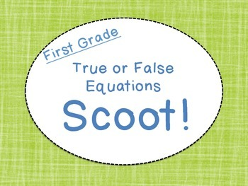 True or False Equation Scoot