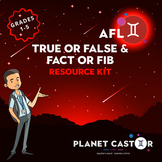 True or False & Fact or Fib Kit | Assess Prior & Current Knowledge | Grades 1-5