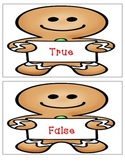 True or False Gingerbread  Addition & Subtraction