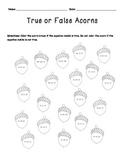 True or False Math Equations (Fall themed)