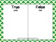 True or False Math Equations Task Cards (St. Patrick's Day