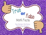 True or False Math Facts